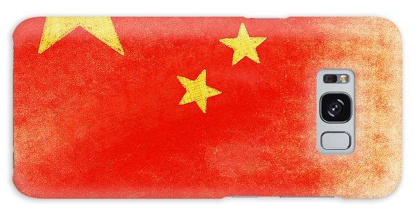 Mottled Galaxy Case - China Flag by Setsiri Silapasuwanchai
