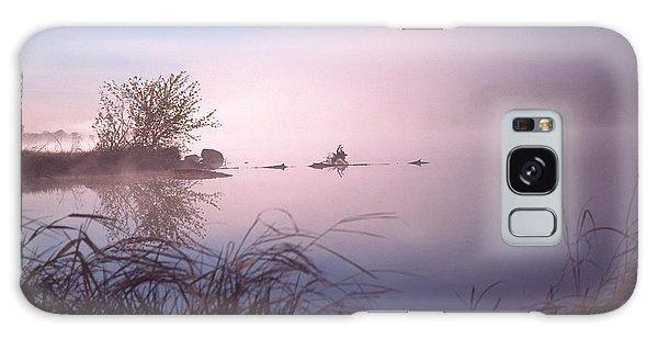 Chippewa River At Dawn Galaxy Case