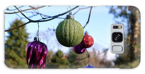 Christmas Baubles Galaxy Case by Richard Reeve