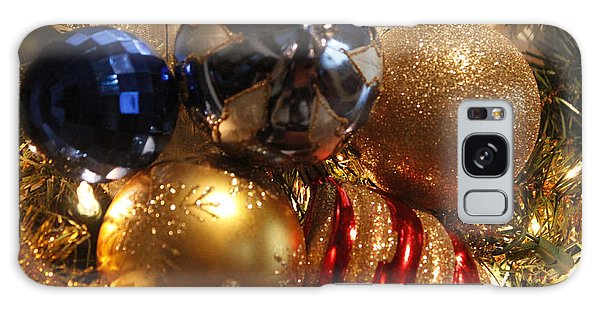 Christmas Bulbs Galaxy Case by Ivete Basso Photography