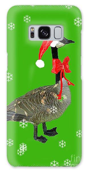 Christmas Goose Galaxy Case