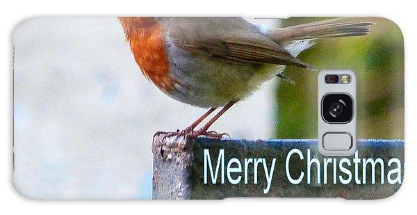 Christmas Robin Galaxy Case
