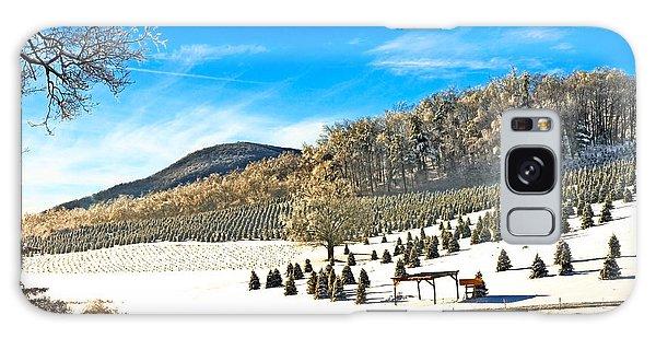 Christmas Tree Farm Galaxy Case