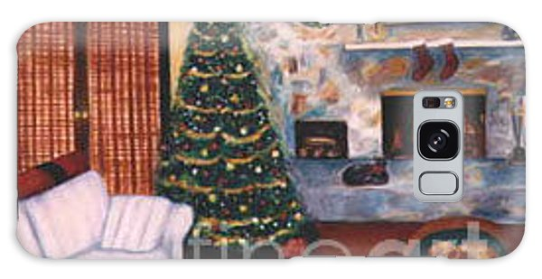 Online Shopping Cart Galaxy Case - Christmastime By Karen E. Francis by Karen Francis