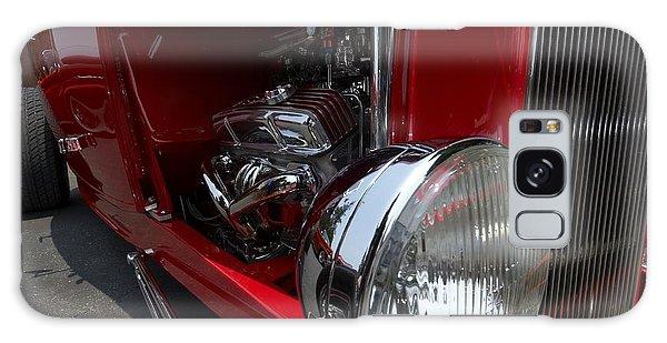 Chrome Engine Vintage Car Galaxy Case