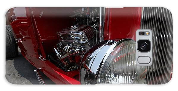 Chrome Engine Vintage Car Galaxy Case