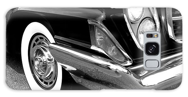 Chrysler 300 Headlight In Black And White Galaxy Case