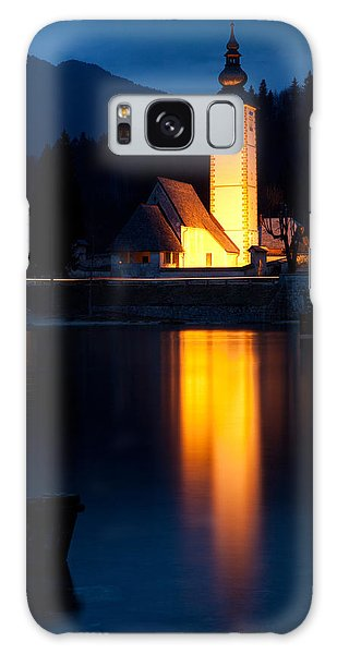 Church At Dusk Galaxy Case by Ian Middleton