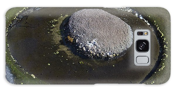 Circular Rock Galaxy Case