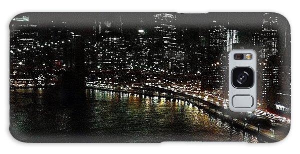 Skylines Galaxy Case - City Lights - New York by Joel Lopez