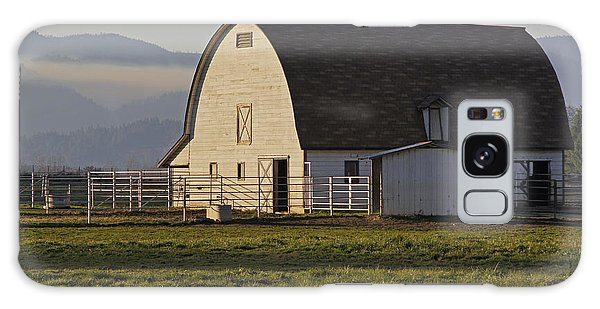 Classic Barn Near Grants Pass Galaxy Case by Mick Anderson