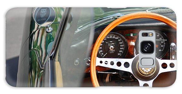 Classic Green Jaguar Artwork Galaxy Case by Shane Kelly