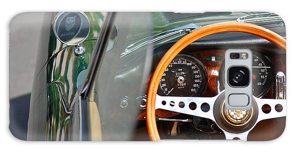 Classic Green Jaguar Artwork Galaxy Case