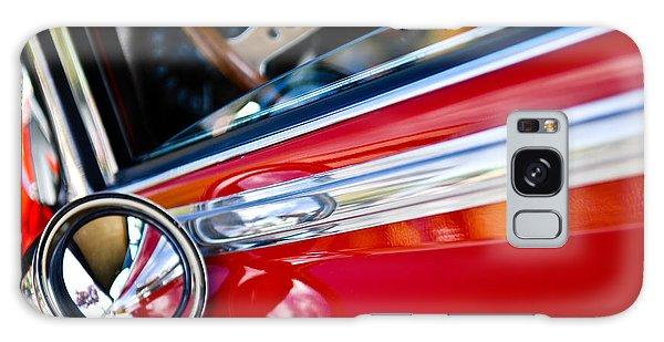 Classic Red Car Artwork Galaxy Case by Shane Kelly
