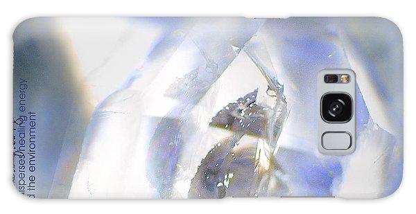 Clear White Vision Galaxy Case by Vicki Ferrari