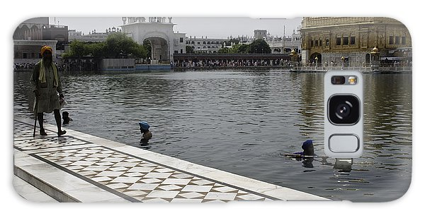Clearing The Sarovar Inside The Golden Temple Resorvoir Galaxy Case by Ashish Agarwal