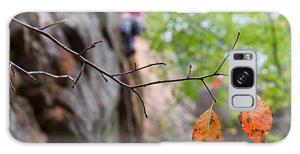 Climber In Fall Galaxy Case