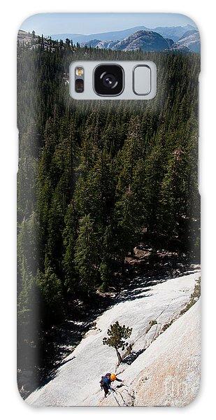 Climber In Yosemite Galaxy Case