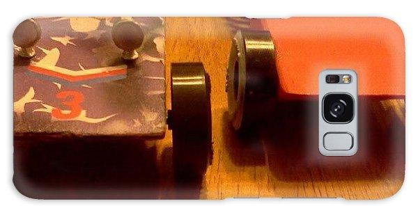 Automotive Galaxy Case - Close Finish by Stacy C Bottoms