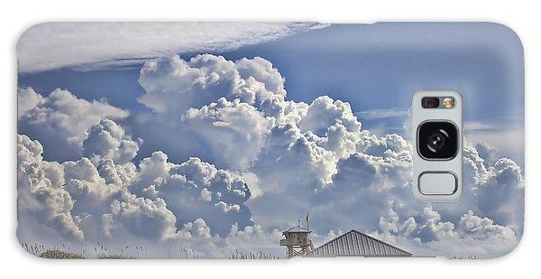 Picnic Table Galaxy Case - Cloud Merge by Deborah Benoit