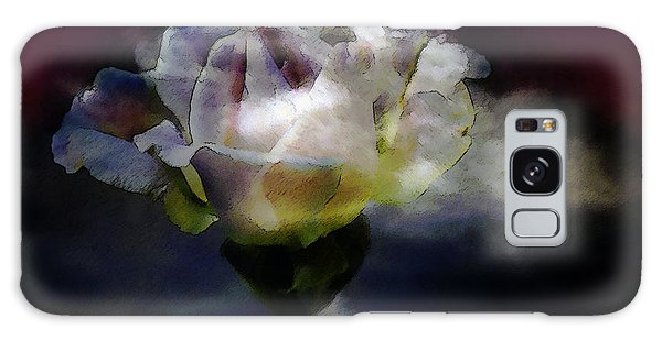 Cloud Rose Painterly Galaxy Case by Clayton Bruster