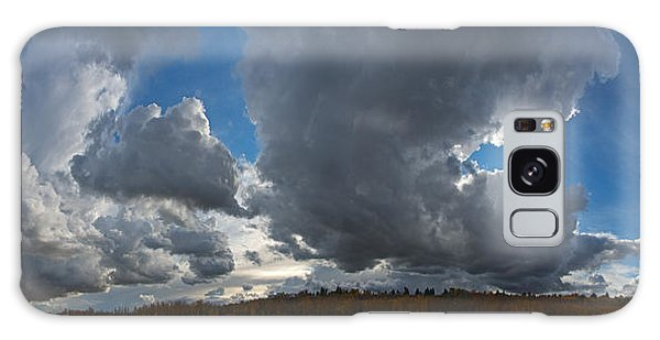 Clouds And River Edmonton Galaxy Case