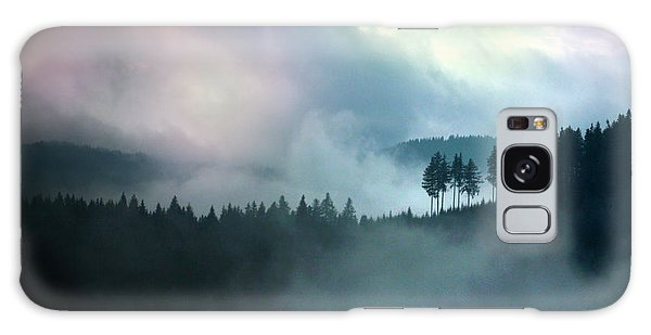 Clouds In The Mountains X Genesis Galaxy Case by Emanuel Tanjala