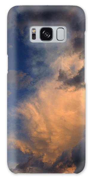 Clouds In The Spring Sky Galaxy Case