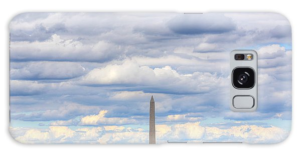 Clouds Over Washington Dc Galaxy Case