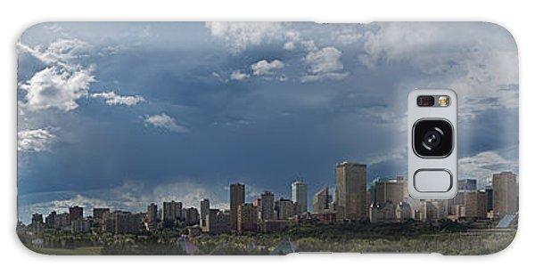 Cloudy Panorama Edmonton Galaxy Case