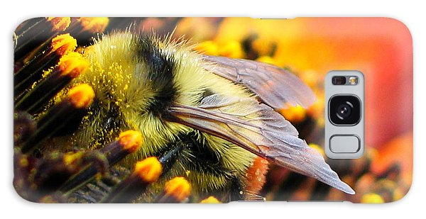 Collecting Pollen Galaxy Case by Vivian Christopher