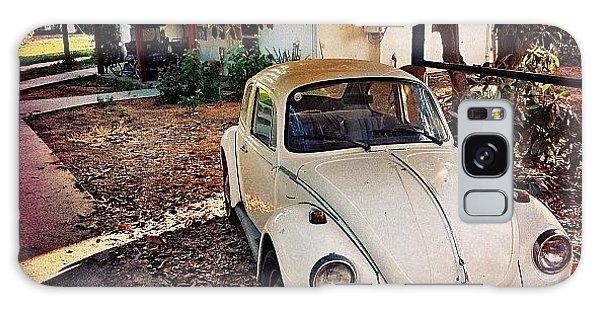 Volkswagen Galaxy Case - #collectors #classic #car #auto #white by Alon Ben Levy