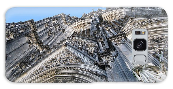 Cologne Cathedral Galaxy Case by Arlene Carmel