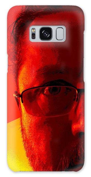 Color Me Bad Galaxy Case by Jeff Iverson