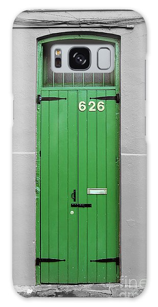Colorful Arched Doorway French Quarter New Orleans Color Splash Black And White Galaxy Case
