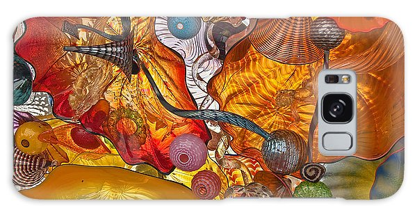 Colorful Glass Still Life Galaxy Case by Valerie Garner