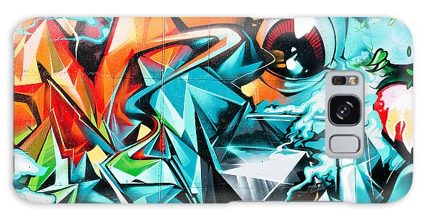 Colorful Graffiti Fragment Galaxy Case by Yurix Sardinelly