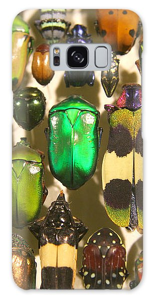 Colorful Insects Galaxy Case