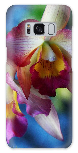 Colorful Orchids Galaxy Case
