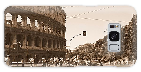 Colosseum In Sepia Galaxy Case