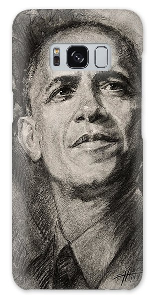 Barack Obama Galaxy Case - Commander-in-chief by Ylli Haruni