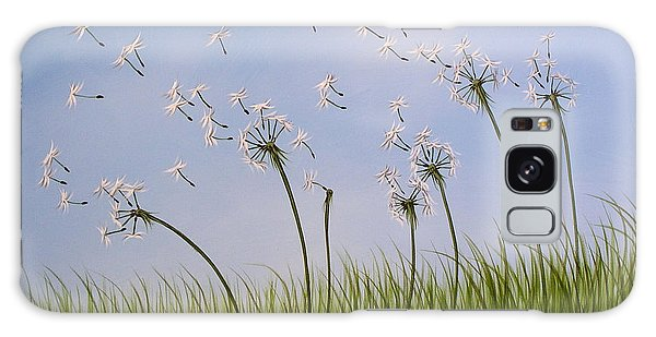 Contemporary Landscape Art Make A Wish By Amy Giacomelli Galaxy Case