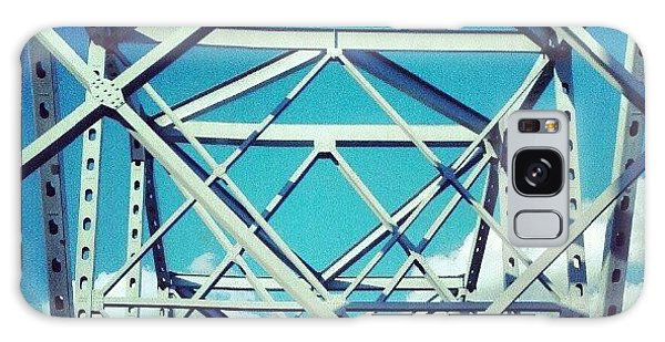 Cool #bridge #ohio Galaxy Case