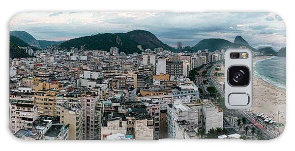 Copacabana Sunset Galaxy Case