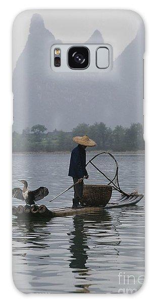 People's Republic Of China Galaxy Case - Cormorant Fisherman On The Li River by Raymond Gehman