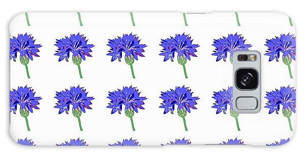 Cornflowers Galaxy Case by Barbara Moignard