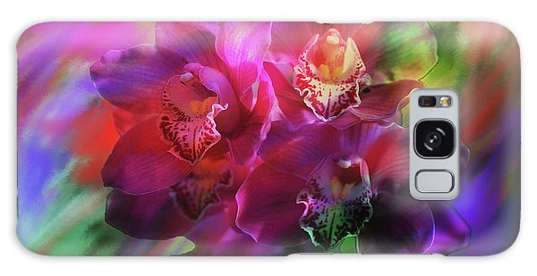 Coronation Orchids  Galaxy Case