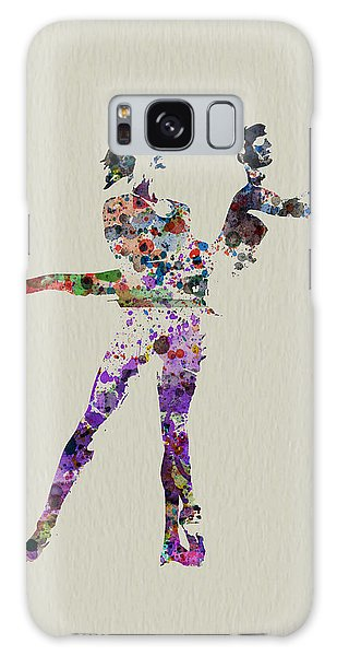 Beautiful Galaxy Case - Couple Dancing by Naxart Studio