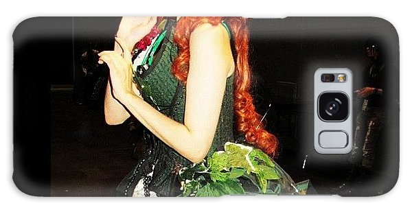 Superhero Galaxy Case - #couture Poison Ivy At #nycc #comiccon by Mariana L