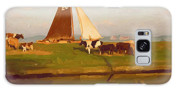 Cows And Sails Galaxy Case
